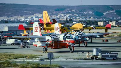 Securite Civile / Conair S-2 Turbo Firecat, Canadair CL-415 / F-ZBAA 22, F-ZBEY 07, F-ZBFP 31