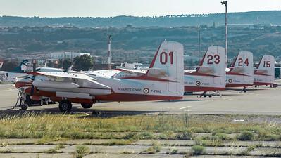 Securite Civile / Conair S-2 Turbo Firecat / F-ZBAZ 01, F-ZBCZ 23, F-ZBMA 24, F-ZBEY 15