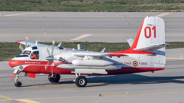 Securite Civile / Conair S-2 Turbo Firecat / F-ZBAZ 01