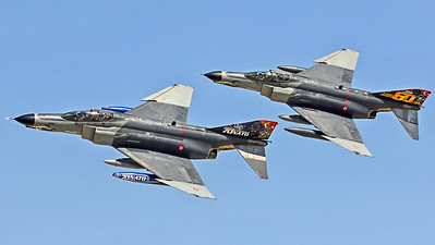 Turkish Air Force 111 Filo /  McDonnell Douglas F-4E-2020 Phantom II / 77-0288 & 77-0296 / 70 Years NATO Livery & 60 Years 111 Filo Livery