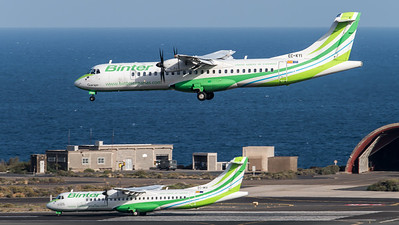 Binter Canarias / ATR 72-500 & ATR 72-600 / EC-KYI & EC-MVI