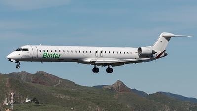Binter Canarias / Canadair CRJ-900 / EC-MEN