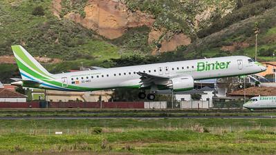 Binter Canarias / Embraer E195-E2 / EC-NEZ