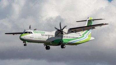 Binter Canarias / ATR-72-500 / EC-KRY