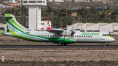 Binter Canarias / ATR 72-500 / EC-KGJ
