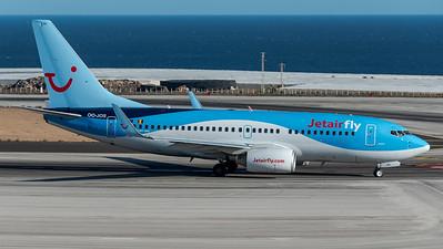 JetairFly / Boeing B737-7K5 / OO-JOS