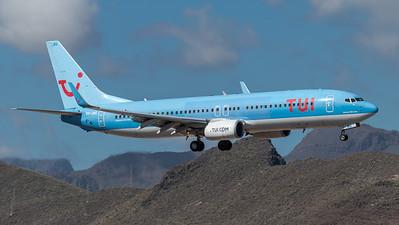 TUI / Boeing B737-8K5 / OO-JBG