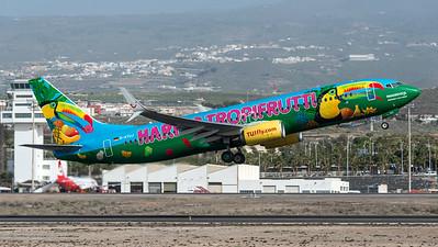 Tuifly / Boeing B737-8K5 / D-ATUJ / Haribo Tropifrutti Livery