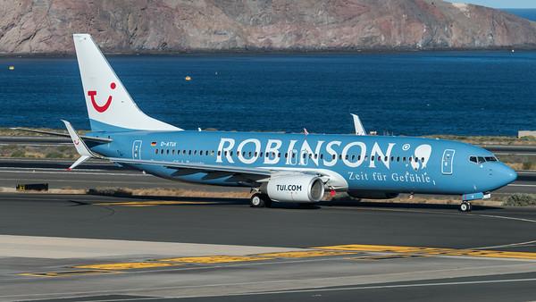 Tuifly / Boeing B737-8K5 / D-ATUI / Robinson Livery