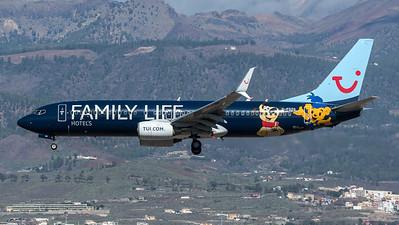 Thomson / Boeing B737-8K5 / G-FDZG / Family Life Hotels Livery