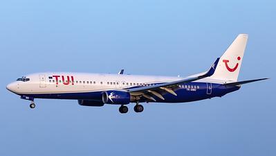 TUI (Blue Air) / Boeing 737-800 / YR-BMD
