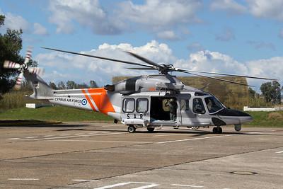 Cyprus Air Force 460 SQN / AgustaWestland AW139 / 701
