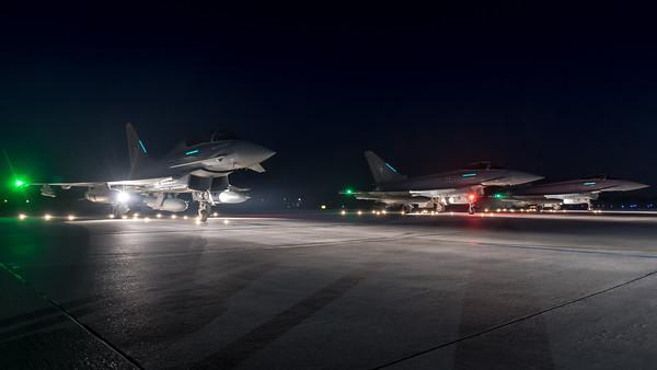 German Air Force TLG74 / Eurofighter Typhoon / 31+25 & 30+53 & 31+11