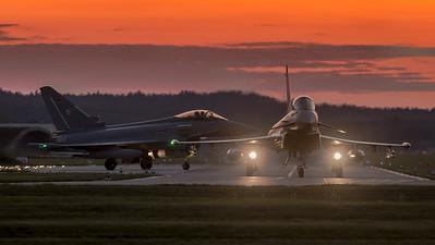 German Air Force TLG-74 / Eurofighter Typhoon / 30+53 & 30+45