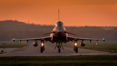 German Air Force TLG-74 / Eurofighter Typhoon / 30+70