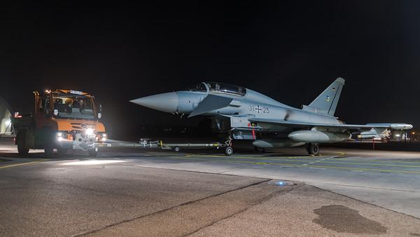 German Air Force TLG74 / Eurofighter Typhoon / 31+25