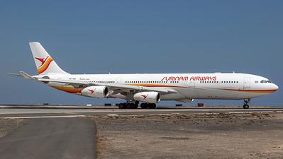 TUI (Surinam Airlines) / Airbus A340-313 / PZ-TCR