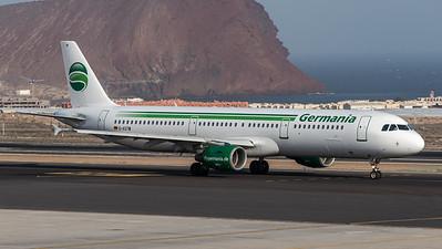 Germania / Airbus A321-211 / D-ASTW