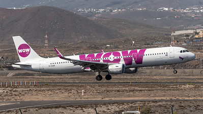 WOW Air / Airbus A321-211(WL) / TF-DAD