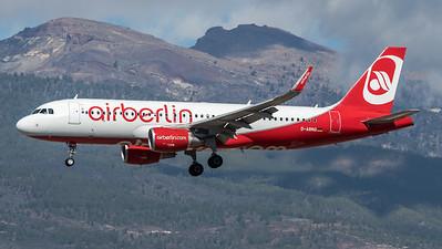AirBerlin / Airbus A320-214(WL) / D-ABNQ