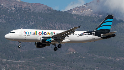 Small Planet / Airbus A320-214 / LY-ONJ / Afriqiyah Airways Small Planet Livery
