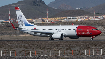 Norwegian / Boeing B737-8JP / EI-FJX