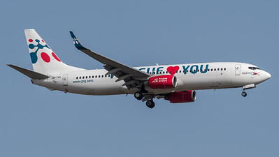 Travel Service / Boeing B737-8Z9 / OK-TVX / Pragie Loves You Livery