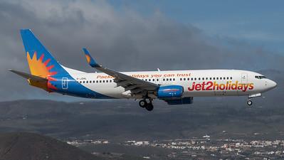 Jet2 Holidays / Boeing B737-8MG / G-JZHL