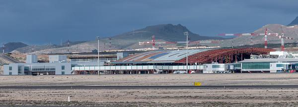 Tenerife Sur new Terminal under Cosntruction