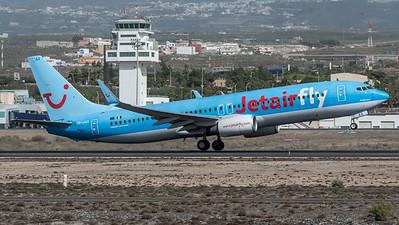 JetairFly / Boeing B737-8K5 / OO-JAX