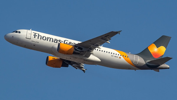 Thomas Cook Balearics / Airbus A320-214 / EC-MVH