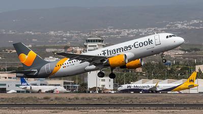 Thomas Cook Belgium / Airbus A320-212 / OO-TCW
