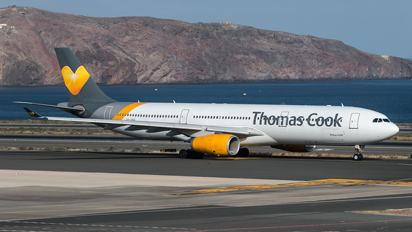 Thomas Cook Scandinavia / Airbus A330-343X / OY-VKG