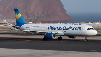Thomas Cook UK / Airbus A321-211 / G-NIKO