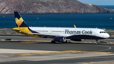 Thomas Cook UK / Airbus A321-231(WL) / G-TCVD / ex-Monarch Livery
