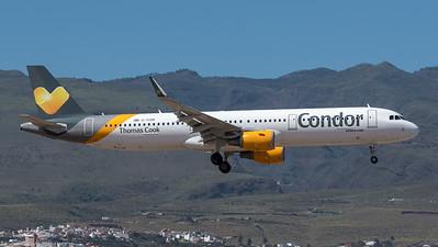 Thomas Cook UK / Airbus A321-211(WL) / G-TCDR / Condor Titles