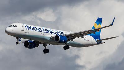 Thomas Cook UK / Airbus A321-211(WL) / G-TCDB