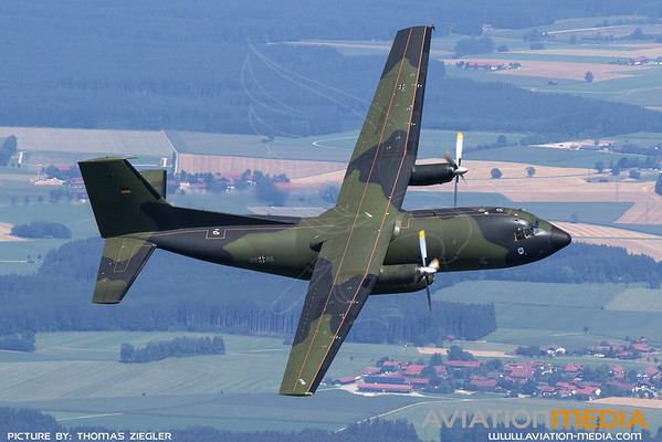 50+86 C160 Transall German Air Force