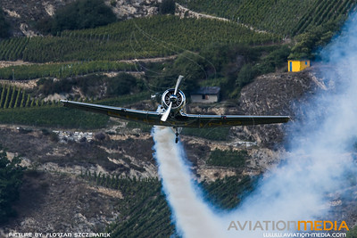 Private / North American T-6G Texan / F-AZCQ / Breitling Livery