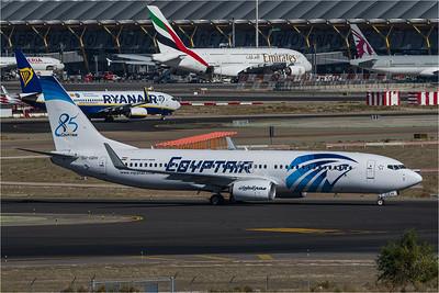 EgyptAir / Boeing B737-866 / SU-GEH / 85th Anniversary Livery