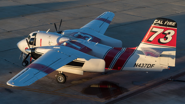 CAL Fire / Marsh Aviation S-2F3AT Turbo Tracker / N437DF
