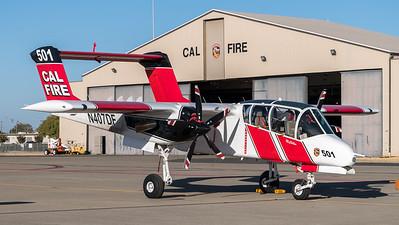 CAL Fire / North American OV-10A Bronco / N407DF