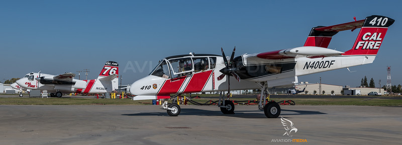CAL Fire / North American OV-10A Bronco & Marsh Aviation S-2F3AT Turbo Tracker / N400DF & N436DF