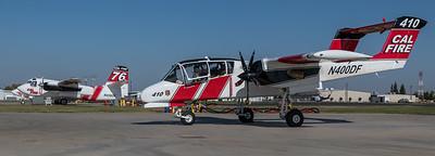 CAL Fire / North American OV-10A Bronco & Marsh Aviation S-2F3AT Turbo Tracker / N400DF & N436DF