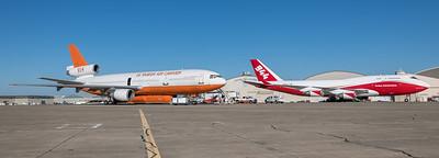 10 Tanker Air Carrier & Global SuperTanker Services / McDonnell Douglas DC-10-30ER & Boeing B747-446(BCF) / N603AX & N744ST