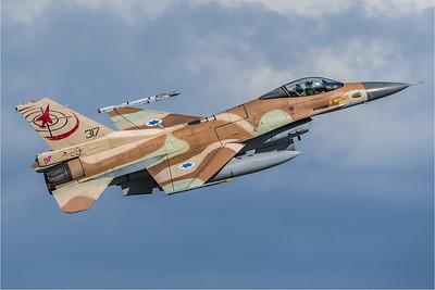 Israeli Air Force 117 Squadron / Lockheed Martin F-16C-30 Barak / 317