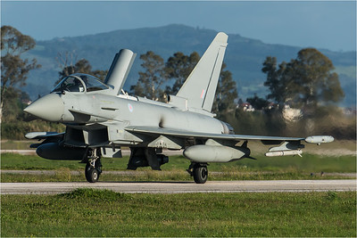 Royal Air Force 29 Squadron / Eurofighter Typhoon FGR.4 / ZK358