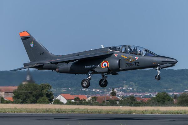French Air Force / Dassault Breguet Alpha Jet E / E83 705-TZ