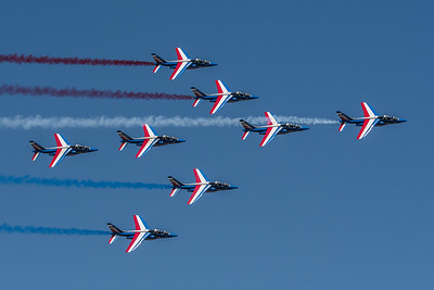 French Air Force PdF / Dassault Breguet Alpha Jet / Patrouille de France Livery