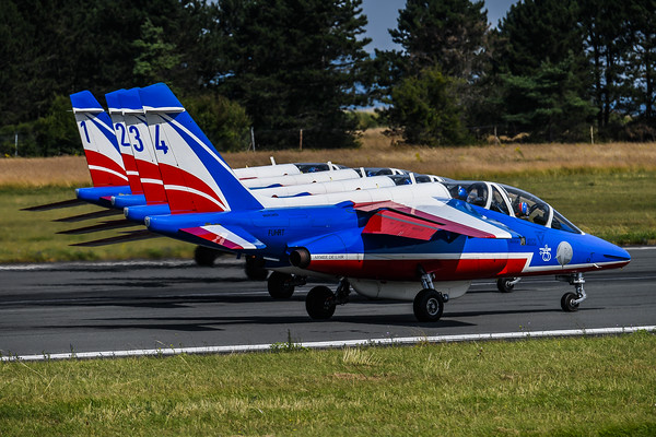 French Air Force PdF / Dassault Breguet Alpha Jet / Patrouille de France Livery